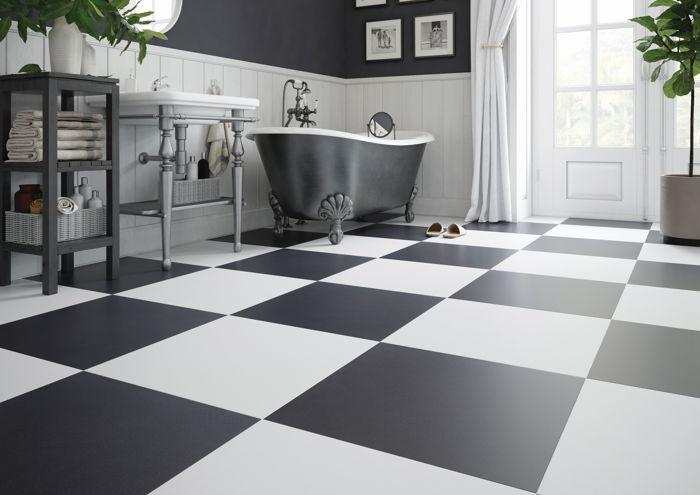 łazienka W Wydaniu Blackwhite Urokliwy Komfort Czy Chłodna