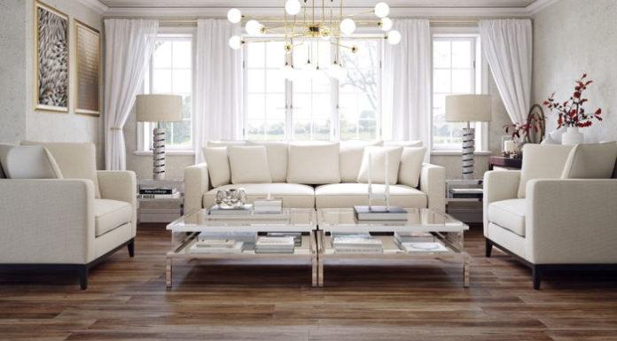 Podłoga inspirowana naturą. Aranżujemy salon motywem drewna