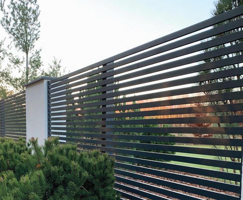Słupki do ogrodzeń aluminiowych